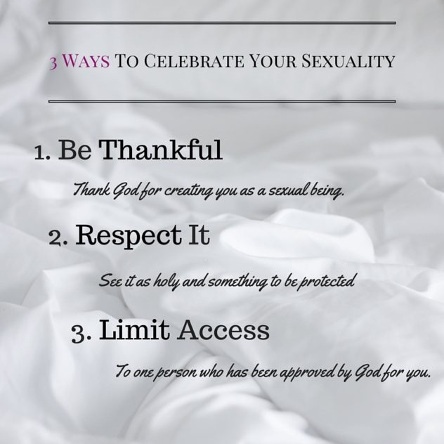 3 Ways To Celebrate Your Sexuality